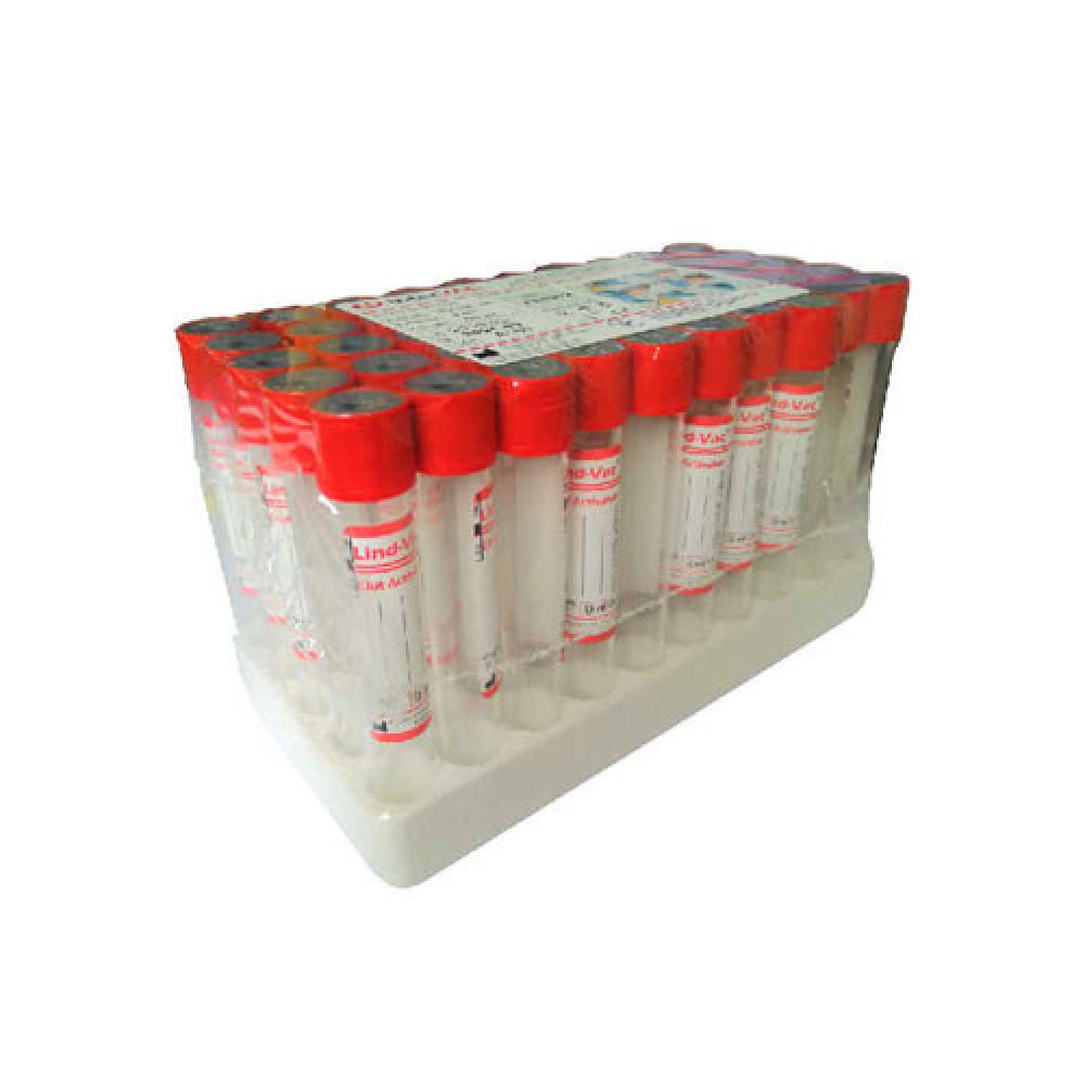 Пробірка Vacumed з активатором утворення згустку 16х100, 9 мл