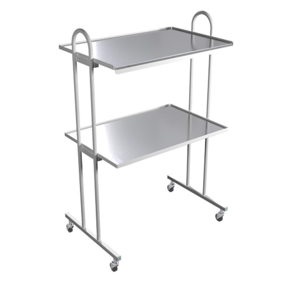 Столики інструментальні СI-3 (нерж.сталь/нерж.сталь)