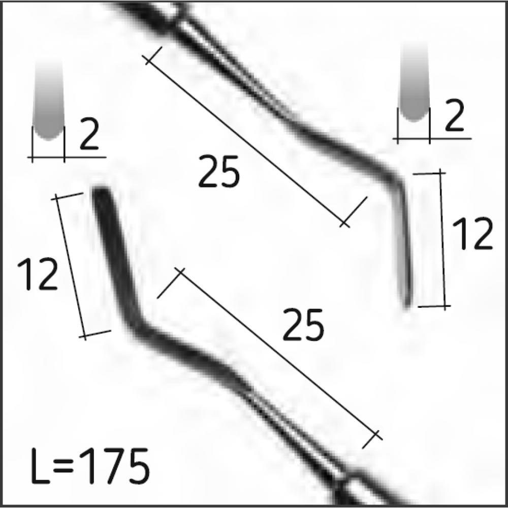 Двостороння гладилка HEIDEMANN 1, N0455-R