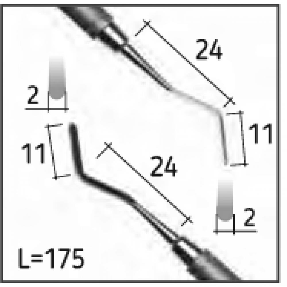 Двостороння гладилка HEIDEMANN 1, N2014-S