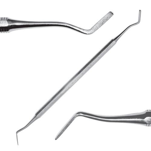 Інструмент для підясенного застосування, багнетопоподібний/ лопаткоподібний з зубчиками, SD-1105-00О