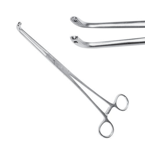 Затискач для жовчних протоків Finocchietto, 24 см, J-17-258