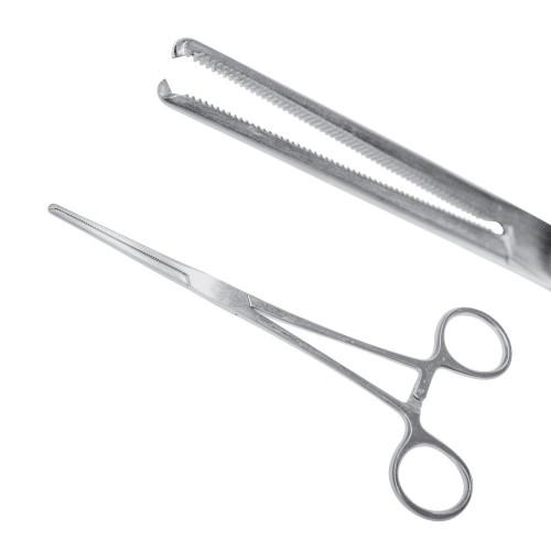 Затискач судинний (Кохер) 1:2 зубий прямий 18,5 см, J-17-392