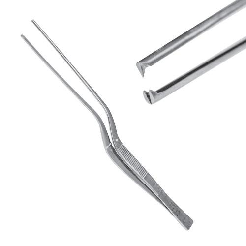Пінцет хірургічний 1:2 зубий 17,5 см, J-16-103