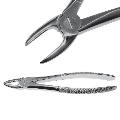 Екстракційні щипці для видалення коренів різців верхньої щелепи