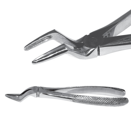 Екстракційні щипці із середніми губками для видалення верхніх коренів