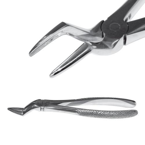 Екстракційні щипці з вузькими губками для видалення верхніх коренів, SD-0243-51A
