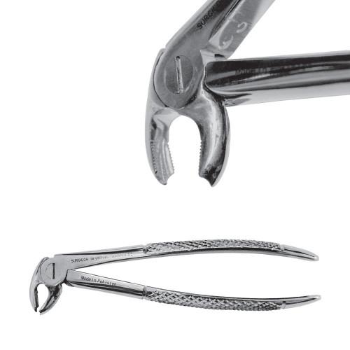 Екстракційні щипці для видалення нижніх молярів Hawks Bill, SD-0417-22S