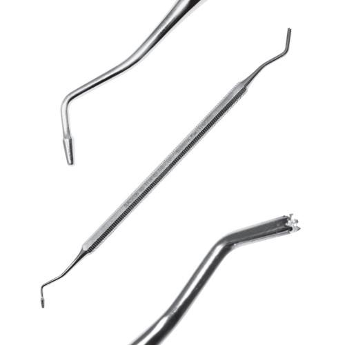 Штопфер зубчастий (фестончатий)/конусоподібний для моделювання пломб, 16 см, SD-1114-01