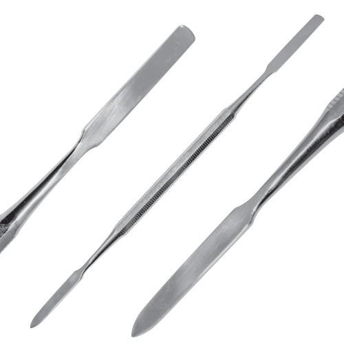 Шпатель двосторонній: лопаткоподібний/загострений, 17см, SD-1172-01