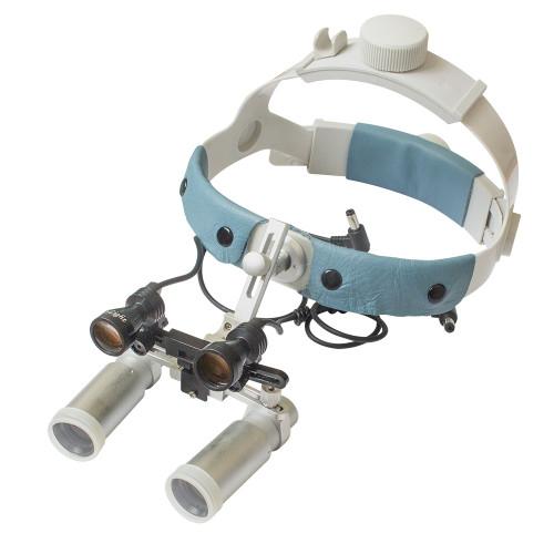 Бінокулярний збільшувач ECP-5,0x-R ErgonoptiX Комфорт Призматік з освітлювачем D-Light HD