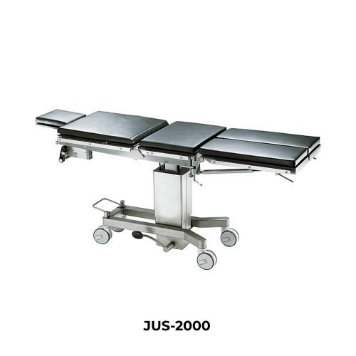 Стол операционный гидравлический, рентгенопрозрачный, мобильный  JUS-2000
