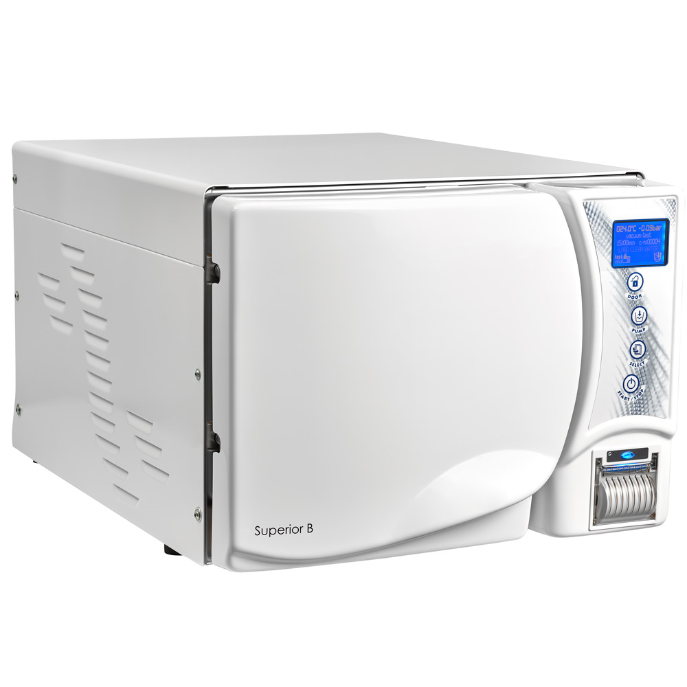 Паровий стерилізатор SUPERIOR B23 з системою очищення води ROSI