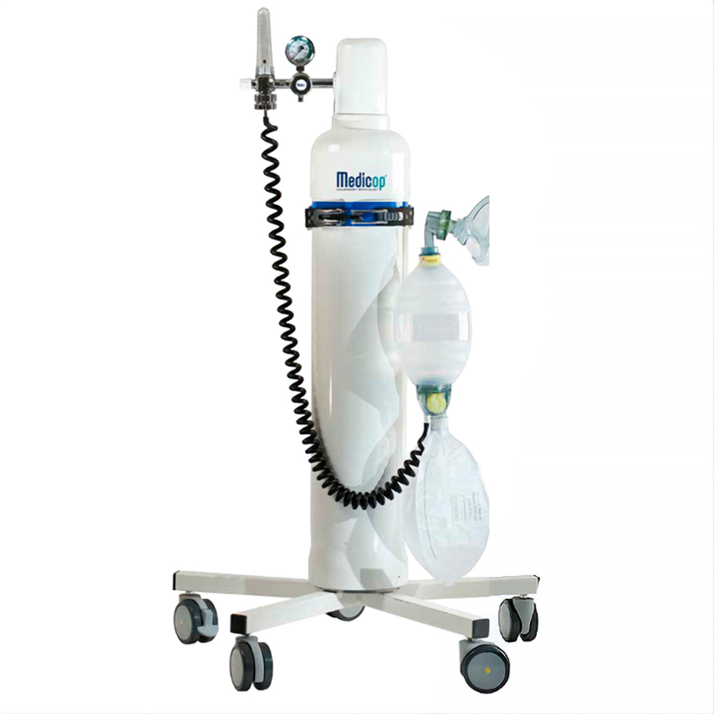 Пристрій пересувний для кисневої терапії