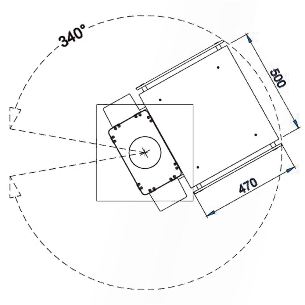 Консоль підвісна SACP-90