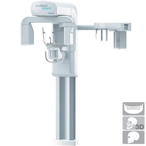Система рентгенівська X-MIND TRIUM TLD з функцією ортопантомографії (ОПТГ), конусно-променової комп'ютерної томографії (КПКТ)