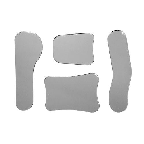 Стоматологічні вироби з пластмас: дзеркала внутрішньоротові (комплект 4 шт.)