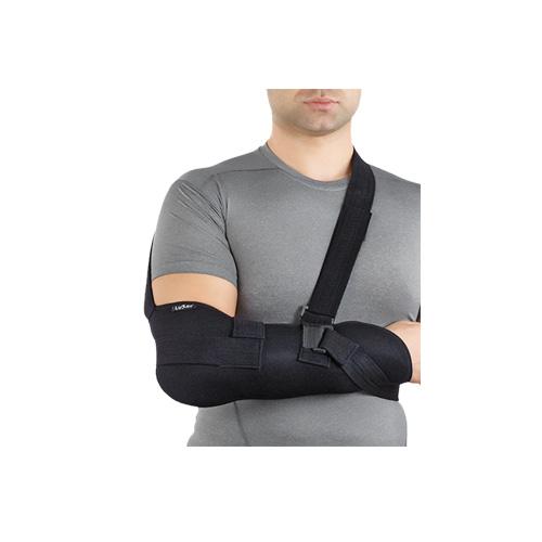 Бандаж  підтримуючий на ліктьовий суглоб люкс