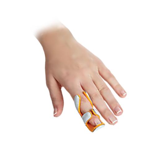 Шина на палець руки, тип «Жабка»