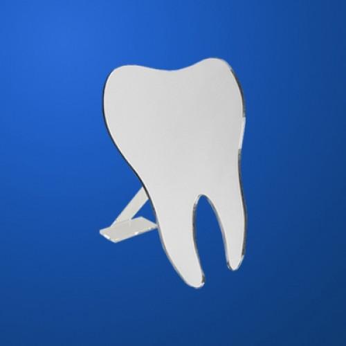 Вироби і сувеніри з пластмас: дзеркало зуб на підставці